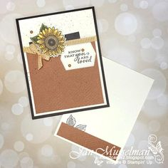 i♥Cards2: Paper Craft Crew Card Sketch - PCC378 Small Sunflower, Sunflower Cards, Beach Wedding Favors, Wedding Souvenir, Gift Table, Card Sketches, Groomsman Gifts, Diy Cards, Stampin Up Cards