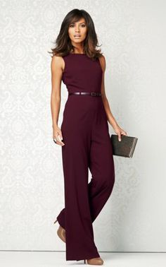 Jumpsuit With Structured Shoulder | Clothing-my kind of flair ...