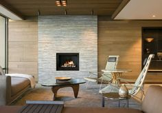 Mid Century Modern Fireplace @roomsbymail