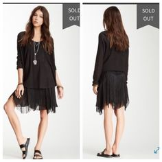 Free People // Fringe Lace Skirt NWT Brand new! Foam of Daze lace fringe skirt from Free People size 8.                                                    Always happy to bundle Love offers Will hold Free People Skirts
