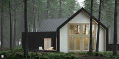Dom czarno-biały - zdjęcie od KOZIEJ ARCHITEKCI - Domy - Styl Skandynawski - KOZIEJ ARCHITEKCI