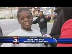 A Pack Of Detroit Black Teens Take Over Gas Station & Scare Off Customers & Workers! - The sound of free speech is a glorious thing, but a lot of people are afraid of the truth. I'm not saying Tommy is 100% correct, but I think anyone can see he's talking about truth that Obama/BLM/Clinton don't want to talk about. Don't bother calling him Uncle Tom. Respect!