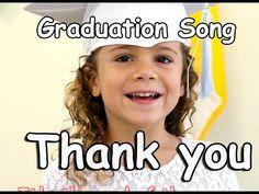 Graduation Song | Thank you | Children's song | Graduation Lyrics | Patty Shukla - YouTube
