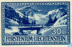 Stamps - Liechtenstein - Stamp Exhibition Vaduz 1936