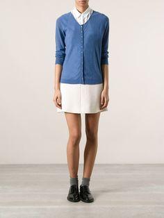 Iris blue cashmere 'Onice' cardigan from Sogari