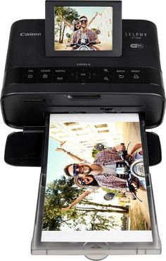 Canon SELPHY CP1300 Compact Photo Printer with KP-108 Ink//Paper Set Bundle Kit