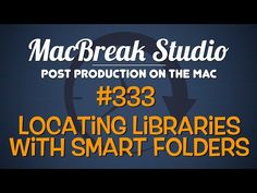 New MacBreak Studio episode - learn how to locate libraries with Smart Folders! http://www.motionvfx.com/B4244  #fcpx #fcp #tutorial #mac #osx