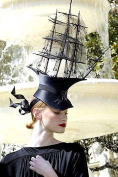 ⍙ Pour la Tête ⍙  hats, couture headpieces and head art -  Philip Treacy: Mad hatter   Herald Sun