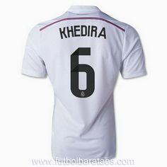 Nueva camiseta de Khedira 1st Real Madrid 2015 baratas