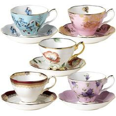 Amazon.com Royal Albert 100 Years of Royal Albert Teacups and Saucers,... (7.940 RUB) ❤ liked on Polyvore featuring home, kitchen & dining, drinkware, royal albert tea cups, royal albert teacup, royal albert and everyday drinkware