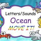 """SO MUCH FUN!  Review letters and sounds then take a break to """"wiggle your tentacles"""".  Better refocus before the shark swims past us!  More practice then more movement!  Great sound effects and animations make this a hit! $4"""