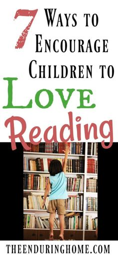Love her ideas on how to get kids to adore reading and love books! I've tried some of these ideas and they totally work!