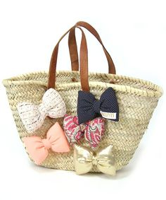 Swati big bow basket