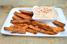 Forget your french fry craving and make a batch of these Crispy Sweet Potato Wedges instead, paired perfectly with Spicy Mayo.