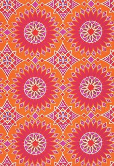 Trina Turk Soleil Sunset, Outdoor Pillow Cover, Orange, Purple, Fuschia, Pink, Orchid, Geometric, Medallion, Designer, Modern, summer by septemberHOME on Etsy https://www.etsy.com/listing/287743117/trina-turk-soleil-sunset-outdoor-pillow