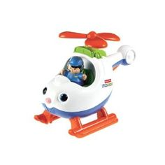 Just found this Fisher Price Little People Helicopter at Target.  Little dude is loving propellers right now and it makes the most fun sounds!