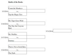 Run a Battle of the Books for an after school March Madness program.