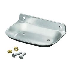 KOHLER Brockway Wall-Mount Soap Dish in Bright Chrome K-8880-BC at The Home Depot - Mobile