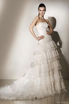 Pepe Botella 2012 bridal collection, Dawn