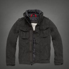 Abercrombie & Fitch || buell mtn jacket