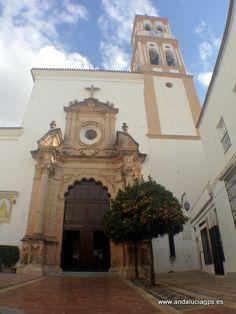 """#Málaga - #Marbella - Iglesia de la Encarnación - 36º 30' 35"""" -4º 53' 3"""" / 36.509722, -4.884167  Construida probablemente sobre la mezquita principal de Marbella. Su advocación se debe a la veneración que los Reyes Católicos sentían sobre el Misterio de la Encarnación. Se inicia su nueva reforma o una nueva construcción a partir del s.XVI. La mayoría de mezquitas fueron sustituidas a lo largo del siglo XVI por nuevas iglesias."""