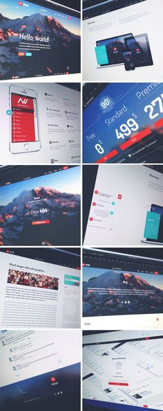 Meeting Application on Behance
