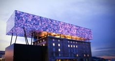 Rockheim, also known as Norway's national museum for pop and rock music, is Trondheim's most famous museum promoting Norwegian talents.