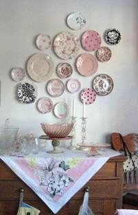 27 Ideas Wall Decoration Hanging Kitchens Wall Plates On Wall