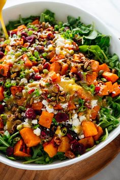 Rice Salad Recipes, Winter Salad Recipes, Farro Recipes, Wild Rice Salad, Clean Eating, Healthy Eating, Vegetarian Recipes, Healthy Recipes, Eating Clean