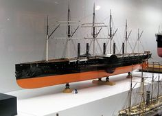 Isambard Kingdom Brunel, Paddle Boat, Wooden Ship, Shipwreck, Steam Engine, Tin Toys, Model Ships, Water Crafts, Steamer