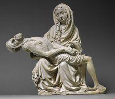 Pieta (Vesperbild) [Bohemia] (2001,78) | Heilbrunn Timeline de la historia del arte | El Museo Metropolitano de Arte