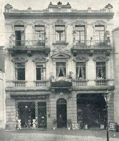 1922 - Hotel Rio Branco na rua Marechal Deodoro, 44, no bairro de Santa Cecília.