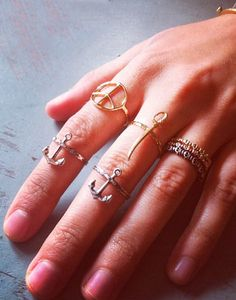Anchor ring and sword...uh awesome!