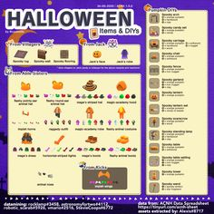 Animal Crossing Guide, Animal Crossing Villagers, Pumpkin Carriage, Lantern Set, The Time Machine, Animal Hats, Halloween Items, Island Design, Just Giving