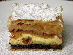 Palacinke Recipe, Baking Recipes, Dessert Recipes, Desserts, Kolaci I Torte, Croatian Recipes, Sweet Cakes, No Bake Cake, Food Art