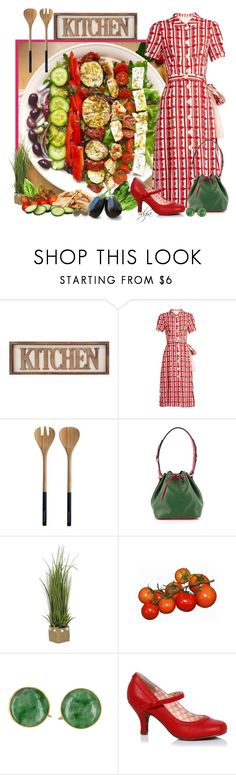 """""""Greek salad"""" by dgia ❤ liked on Polyvore featuring Miu Miu, Nicolas Vahé and Louis Vuitton"""