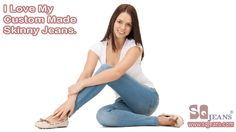 People love SQ Custom Made Jeans. Design Skinny Jeans for you with http://www.sqjeans.com/skinny-jeans.html