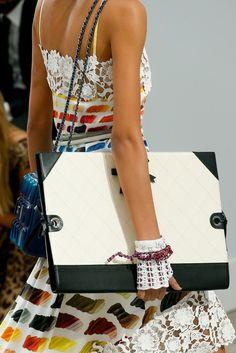 lesbeehive:  Les Beehive Chanel RTW Spring 2014 - Paris Fashion Week