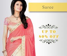 Up To 80% Off on Sarees