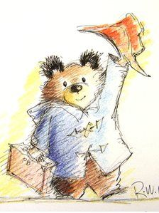 paddington bear!!  <3