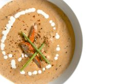 Helyn's Healthy Kitchen: Lobster Mushroom Bisque ~ Plant-based and Amazing!