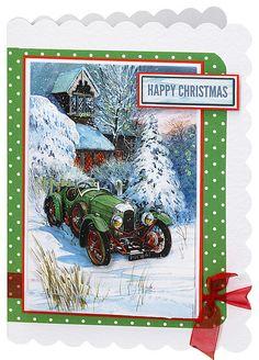 Craft Creations die cut decoupage - DCD563 - Christmas Visit