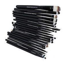 Pro Makeup Brushes Set Cosmetic Foundation Powder Eyeshadow Tool Eyeliner Lip