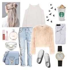 """""""Untitled #236"""" by kawaiipotato0 on Polyvore featuring IRO, H&M, Alexander McQueen, Karl Lagerfeld, Abercrombie & Fitch, Chanel and Puma"""