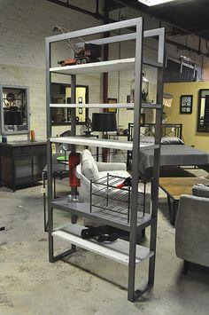 BookShelf88.jpg   Steel framed bookshelf with 4 quarter roug…   Flickr