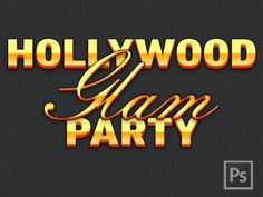 Hollywood glam styles on Dribbble