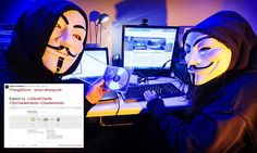 Hacker group Anonymous claims to have forced their first jihadi website down since announcing online war against extremists in the wake of Charlie Hebdo murders   http://www.dailymail.co.uk/news/article-2906987/Hacker-group-Anonymous-claims-forced-jihadi-website-announcing-online-war-against-extremists-wake-Charlie-Hebdo-murders.html
