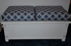 Sweetwater Style: No Sew Box Cushions with a New Tip!  Use for outdoor cushions and the maple rocker