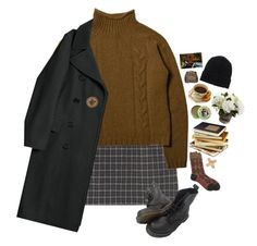 A fashion look from December 2016 featuring long sleeve tops, wool coat and argyle socks. Browse and shop related looks. Indie Outfits, Retro Outfits, Boho Outfits, Fall Outfits, Fashion Outfits, Indie Clothes, Style Clothes, Really Cute Outfits, Beautiful Outfits