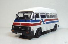 ixo - DeAGOSTINI 1/43 ROCAR TV 35 BUS diecast car model Bus, Diecast, Model, Toys, Scale Model, Models, Template, Pattern